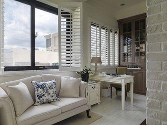 70平米公寓美式风格书房装修案例