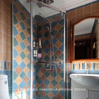 50平米公寓美式风格卫生间欣赏图