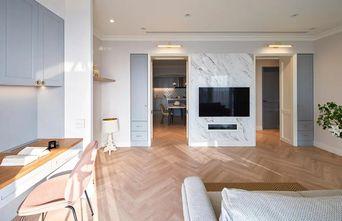 90平米三室两厅北欧风格客厅图