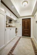 130平米三室两厅美式风格玄关装修效果图