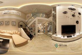 120平米复式北欧风格客厅图片大全