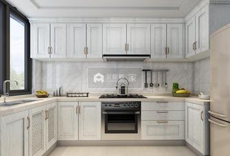 20万以上100平米三室一厅地中海风格厨房图片大全