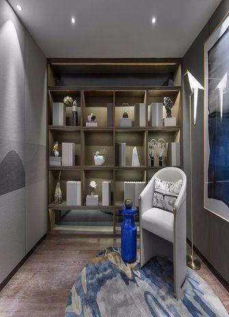 120平米四室一厅中式风格书房效果图