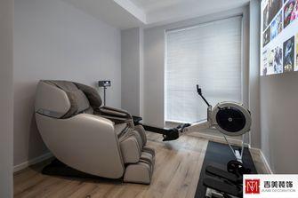 100平米四北欧风格健身室设计图