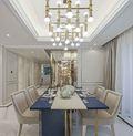 140平米四室一厅欧式风格餐厅装修案例