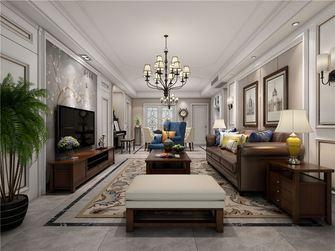 100平米三美式风格客厅装修效果图
