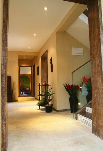 140平米三东南亚风格楼梯间图