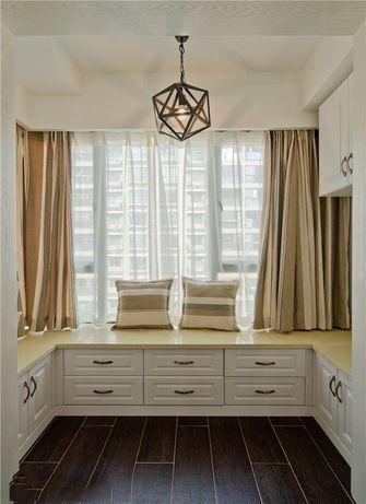 富裕型120平米三室两厅地中海风格衣帽间图