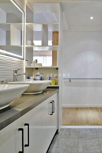 140平米四室两厅北欧风格卫生间图片