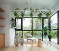 60平米一室两厅田园风格阳台装修案例