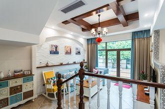 140平米三室三厅地中海风格客厅装修图片大全