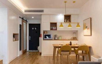 100平米三室两厅日式风格餐厅装修效果图