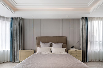 140平米四室两厅混搭风格卧室设计图