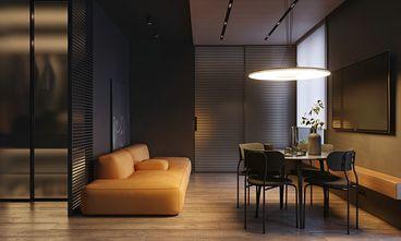 70平米三室两厅英伦风格客厅装修效果图