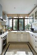 120平米四室两厅新古典风格厨房图片