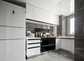 富裕型110平米四室两厅现代简约风格厨房装修案例