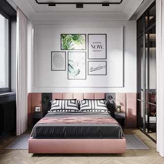 50平米一室两厅北欧风格卧室效果图