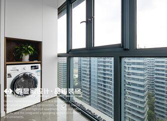 70平米现代简约风格阳台图