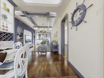 120平米三室两厅地中海风格客厅图片