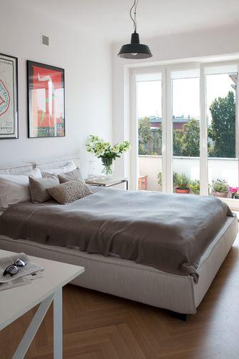 80平米一室一厅田园风格卧室图片大全
