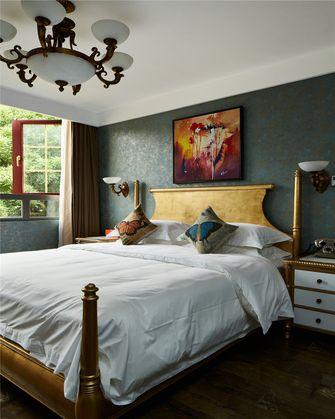 120平米三室一厅田园风格卧室图