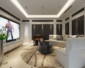 130平米四室两厅混搭风格影音室装修图片大全