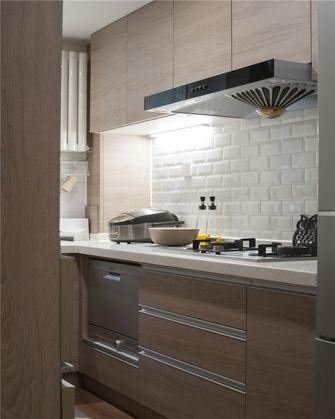 90平米一室一厅现代简约风格厨房效果图