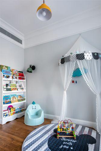 130平米复式现代简约风格儿童房效果图