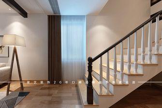 富裕型90平米三室两厅北欧风格楼梯设计图