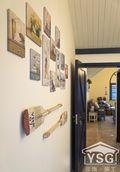 80平米三室两厅田园风格影音室装修案例