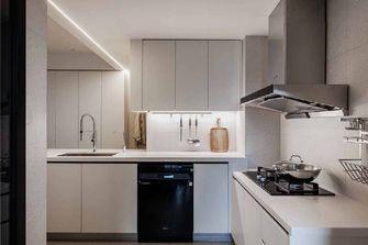 80平米公寓现代简约风格厨房图片大全