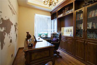 140平米复式欧式风格书房图片大全