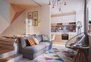 40平米小户型北欧风格客厅图片