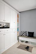60平米一居室新古典风格玄关图片