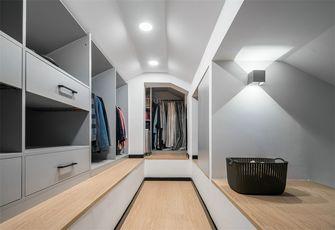 豪华型120平米三室两厅北欧风格衣帽间设计图