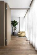 130平米三室三厅北欧风格卧室装修案例