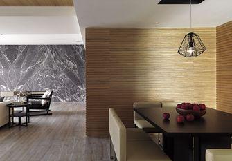 80平米一居室日式风格餐厅设计图
