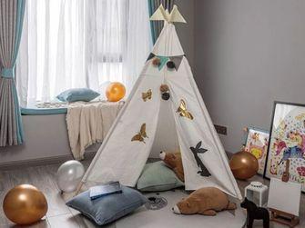 120平米三室一厅美式风格儿童房装修案例