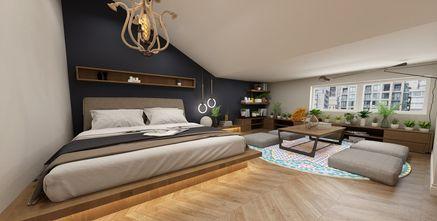 130平米复式法式风格卧室图片大全