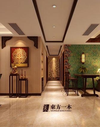 富裕型140平米四室两厅东南亚风格走廊图