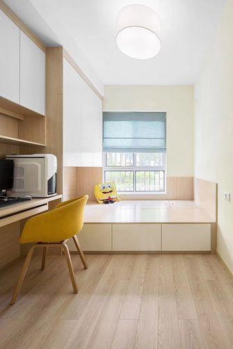 80平米现代简约风格书房设计图