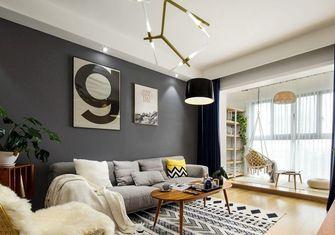 50平米一室两厅宜家风格客厅装修图片大全