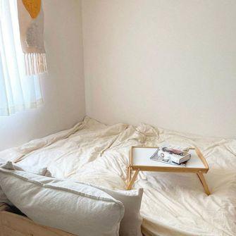 80平米一室一厅田园风格卧室图