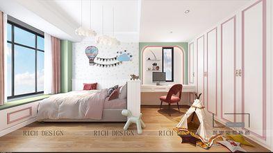 140平米三室一厅欧式风格儿童房图