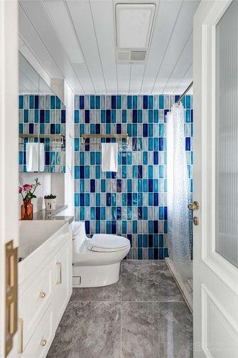 90平米三室两厅美式风格卫生间欣赏图