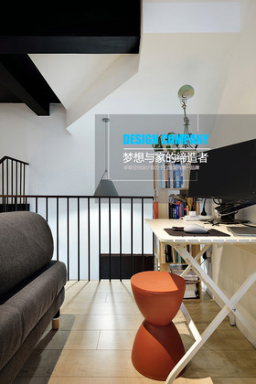 豪華型110平米三現代簡約風格書房效果圖