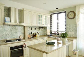 140平米三室三厅英伦风格厨房装修图片大全