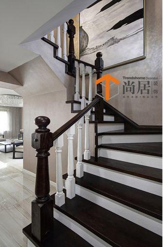 10-15万140平米复式现代简约风格楼梯图片大全