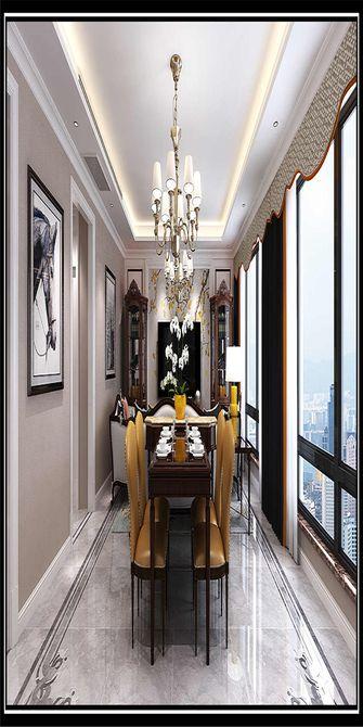 140平米三美式风格餐厅图片