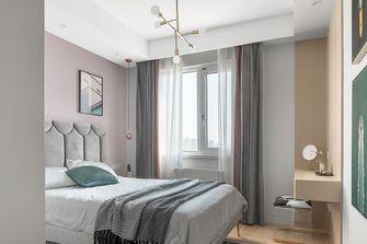 110平米三室两厅北欧风格卧室设计图